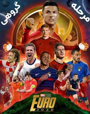جام ملت های اروپا 2020 (مرحله گروهی)